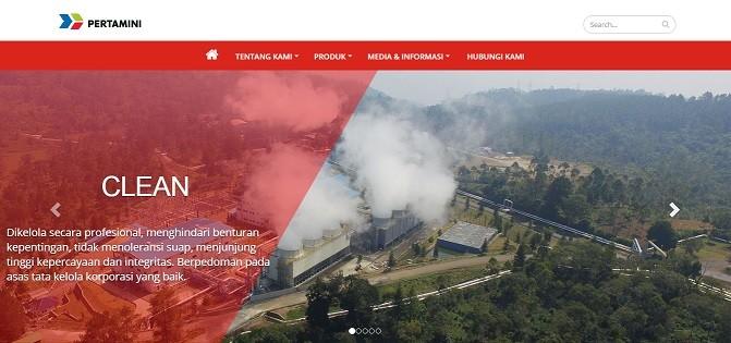 Website Company Profile Lokomedia - Framework CodeIgniter